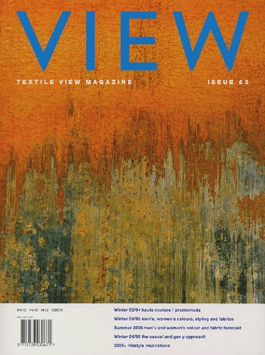 David Shah et  Collectif - View N° 63 Autumn 2003 : .
