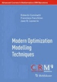 Modern Optimization Modelling Techniques.