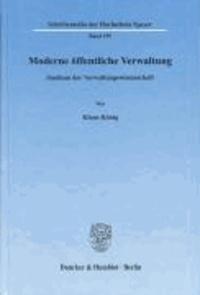 Moderne öffentliche Verwaltung - Studium der Verwaltungswissenschaft.