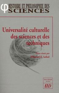 Universalité culturelle des sciences et des techniques.pdf