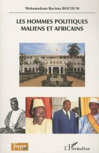 Mohamadoun Baréma Bocoum - Les hommes  politiques maliens et africains.