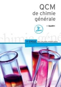 Mohamed Ayadim - QCM de chimie générale.