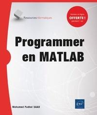 Mohamed Fadhel Saad - Programmer en MATLAB.
