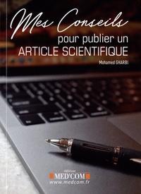 Mohamed Gharbi - Mes conseils pour publier un article scientifique.