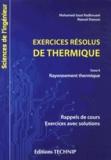Mohamed Sassi Radhouani et Naouel Daouas - Exercices résolus de thermique - Tome 2, Rayonnement thermique.