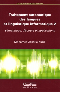 Galabria.be Traitement automatique des langues et linguistique informatique 2 - Sémantique, discours et applications Image