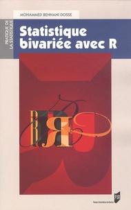 Mohammed Bennani Dosse - Statistique bivariée avec R.