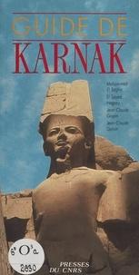 Mohammed el- Saghir et El Sayed Aly Hegazy - Guide de Karnak.