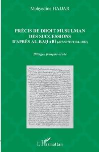 Mohyedine Hajjar - Précis de droit musulman des successions d'après Ali al-Rahabi (497-577H/1104-1182).