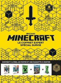 Mojang et Stephanie Milton - Minecraft - Le coffret expert spécial survie - Avec un poster et une maquette à monter.