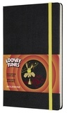 Moleskine - Carnet grand format ligné Looney Tunes Coyote.