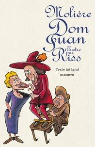 Molière et  Riss - Dom Juan ou Le festin de pierre.