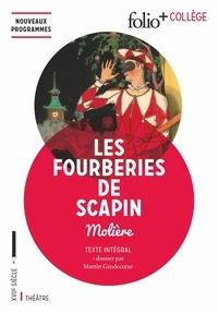 Téléchargement gratuit de livres audio Google Les fourberies de Scapin par Molière DJVU 9782070793129 in French