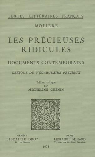 Molière et Micheline Cuénin - Les Précieuses ridicules - Documents contemporains, Lexique du vocabulaire précieux.