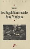 Michel Molin et  MOLIN - Les Régulations sociales dans l'Antiquité - Actes du colloque d'Angers 23 et 24 mai 2003.