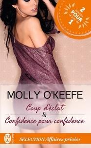 Molly O'Keefe - Affaires privées Tomes 1 et 2 : Sélection Affaires privées - Coup d'éclat & Confidence pour confidence.