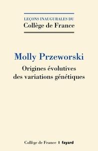 Origines évolutives des variations génétiques.pdf