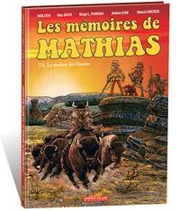 Moloch et Marcel Uderzo - Les mémoires de Mathias Tome 4 : Le maître des bisons.