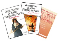 Openwetlab.it Vie et oeuvres de sainte Marguerite-Marie - Tome 1 et Tome 2 ; Avec un index analytique offert Image