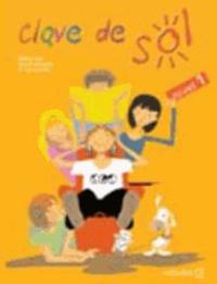 Monica Caso - Clave de Sol 1 Libro del alumno z plyta CD.