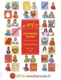 Monica Companys et Yves Lapalu - Bon appétit ! - Dictionnaire bilingue Langue des Signes Française.