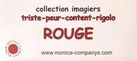 Monica Companys et Sandrine Allier-Guepin - Imagiers rouge - 4 volumes.