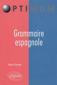 Monica Dorange - Grammaire espagnole.