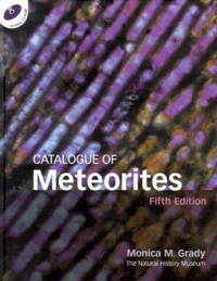 Catalogue of meteorites. Includes CD-ROM, 5th edition.pdf