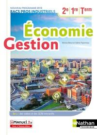 Monica Manzi et Valérie Paponneau - Economie Gestion 2de, 1re, Tle BACS Pros industriels - ASSP.