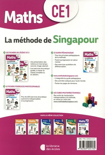 Maths CE1 La méthode de Singapour. Fichier 2  Edition 2020
