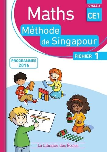 Monica Neagoy - Maths CE1, méthode de Singapour, fichier 1 - Programmes 2016.