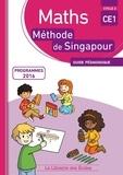 Monica Neagoy - Maths CE1 Méthode de Singapour - Guide pédagogique.