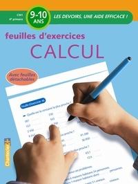 Moniek Vermeulen - Feuilles d'exercices calcul CM1.