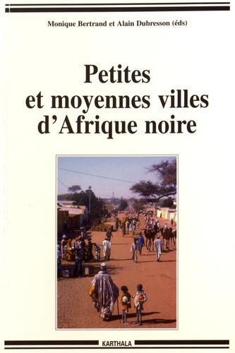 Petites et moyennes villes d'Afrique noire