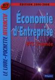 Monique Boulet et Patrick Enreille - Economie d'Entreprise BTS Tertiaires 2e  année.