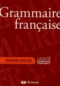Monique Breckx - Grammaire française.