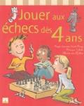 Monique Calecki et Roger Louvrier-Saint-Mary - Jouer aux échecs dès 4 ans.