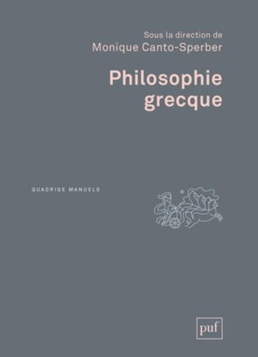 Monique Canto-Sperber - Philosophie grecque.