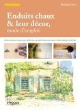 Monique Cerro - Enduits chaux & leur décor - Mode d'emploi.
