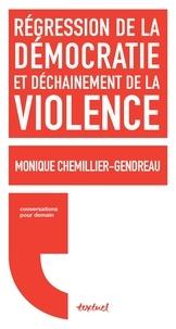 Monique Chemillier-Gendreau - La violence et le droit - Conversation avec Régis Meyran.