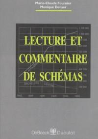Monique Denyer et Marie-Claude Fournier - Lecture et commentaire de schémas.