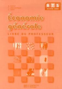 Economie générale BTS 2e année- Livre du professeur - Monique Dupuy | Showmesound.org