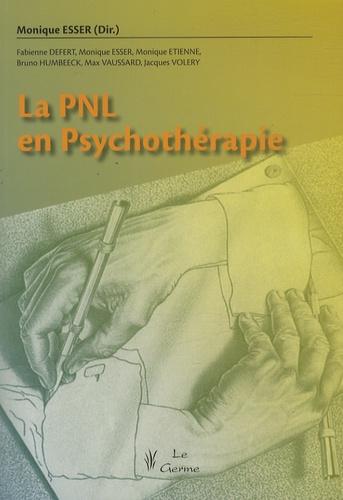 Monique Esser - La PNL en psychothérapie.