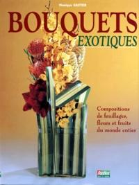 Lesmouchescestlouche.fr BOUQUETS EXOTIQUES Compositions de feuillages, fleurs et fruits du monde entier Image