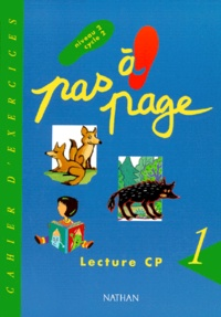 Monique Gazzano-Giribone et Marcel Hugon - Lecture CP Niveau 2 Cycle 2 - Cahier d'exercices, Volume 1.