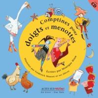 Monique Hion - Comptines pour doigts et menottes. 1 CD audio
