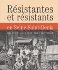 Monique Houssin - Résistantes et résistants en Seine-Saint-Denis - Un nom, une rue, une histoire.