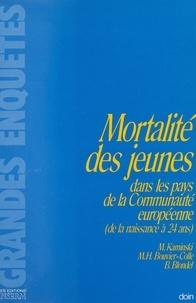Monique Kaminski et Marie-Hélène Bouvier-Colle - Mortalité des jeunes dans les pays de la Communauté européenne.