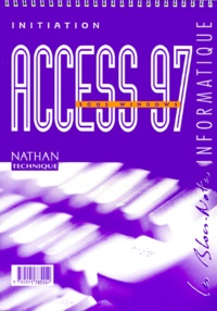 ACCESS 97 SOUS WINDOWS. Initiation.pdf