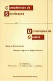Monique Legrand et  Collectif - Compétences de sociologues et dynamiques de société - Contributions au colloque, Nancy, 14 et 15 mars 1996.